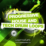 Progressive House & Tech Drum Loops (Sample Pack WAV/APPLE)