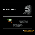 LANDSCAPES - Fields (Back Cover)