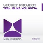 SECRET PROJECT - Secret Project EP (Front Cover)