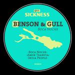 BENSON & GULL - Boca Noche EP (Front Cover)