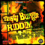 VARIOUS - Tasty Burger Riddim (Front Cover)