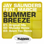 JAY SAUNDERS feat MARCIE - Summer Breeze (Front Cover)