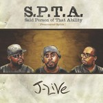 J LIVE - SPTA Said Person Of That Ability (Front Cover)