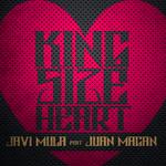MULA, Javi feat JUAN MAGAN - Kingsize Heart (Front Cover)