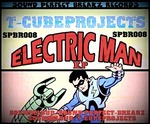 TCUBEPROJECTS - Electric Man EP (Front Cover)
