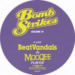 MOOQEE vs BEATVANDALS - Bombstrikes Vol 14 (Front Cover)