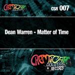 WARREN, Dean - Matter Of Time (Front Cover)