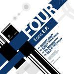 SOULTEC/MSDOS/DECON/PLAIN DIALOGUE/STEEZ - Four Eons EP (Front Cover)