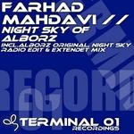 MAHDAVI, Farhad - Night Sky Of Alborz (Front Cover)
