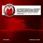XENDZOV, Alexander presents UNDERSKY - Falling With Eyes Shut (Front Cover)