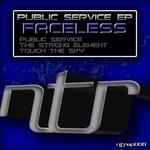 FACELESS - Public Service EP (Front Cover)