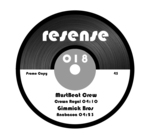 MUSTBEAT CREW/GIMMICK BROS - Resense 018 (Front Cover)