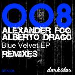FOG, Alexander/ALBERTO DRAGO - Blue Velvet Remixes (Front Cover)