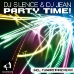 DJ SILENCE/DJ JEAN - Party Time! (Front Cover)