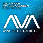 MOOR, Andy feat SUE McLAREN - Fight The Fire (Front Cover)