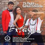 DJ FLIGHT feat SARKIS EDVARDS - Extasy (Front Cover)