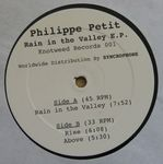 PETIT, Philippe - Rain In The Valley EP (Front Cover)