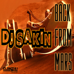 DJ-SAKIN - Back From Mars (Front Cover)