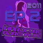 CRW/ORGAN DONORS - Hardcore Adrenaline 2011 Sampler EP 2 (Front Cover)