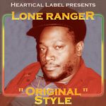 LONE RANGER - Original Style (Front Cover)