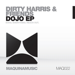 DIRTY HARRIS & FRIENDS - Dojo EP (Front Cover)