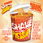 DEEKLINE & ED SOLO feat APLACK PACK/KIDD MONEY - Shake The Pressure (Front Cover)