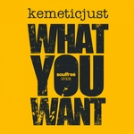KEMETICJUST - What You Want (Front Cover)