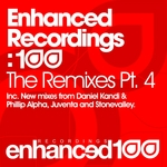 TEMPLE ONE/ESTIVA/ELSA HILL - Enhanced Recordings: 100 The Remixes Part 4 (Front Cover)