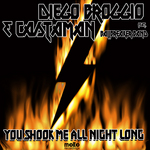BROGGIO, Diego & CASTAMAN feat BALLBREAKER BAND - You Shook Me All Night Long (Front Cover)