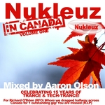 OLSON, Aaron/VARIOUS - Nukleuz In Canada Vol 1: Mixed By Aaron Olson (Front Cover)