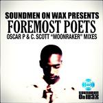 FOREMOST POETS - Moonraker (Oscar P & C Scott mixes) (Front Cover)
