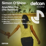 O SHINE, Simon - Anya (The remixes) (Front Cover)