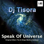 DJ TISORA - Speak Of The Universe (Front Cover)