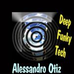 ALESSANDRO OTIZ - Deep Funky Tech (Front Cover)