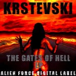 KRSTEVSKI - The Gates Of Hell EP (Front Cover)