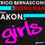 BERNASCONI, Rico/BEENIE MAN feat AKON - Girls (Front Cover)