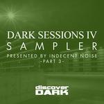 TOO MANY ARTISTS/INDECENT NOISE - Dark Sessions IV Sampler 3 (Front Cover)