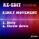 KINKY MOVEMENT - Re Edit Volume 004 (Front Cover)