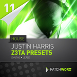 HARRIS, Justin - Patchworx 11: House Synths (Sample Pack Z3TA+ Presets) (Front Cover)