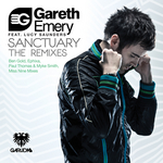 EMERY, Gareth feat LUCY SAUNDERS - Sanctuary Remixes (Front Cover)