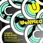 LEMPO & KELEVRA - Hit The Floor (Front Cover)