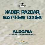 RAZDAR, Nader/MATTHEW CODEK - Alegria (Front Cover)