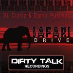 SL CURTIZ/DAMIR PUSHKAR/SEBASTIAN REZA/DA'OTHERS/THE OFFICE/BALTHAZAR & JACKROCK - Safari Drive (Front Cover)