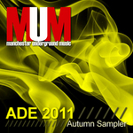 VARIOUS - ADE 2011 MUM Autumn Sampler (Front Cover)