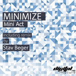 MINIMIZE - Mini Act EP (Front Cover)