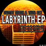 DMITRY RECON & YANA SKY - Labyrinth EP (Back Cover)