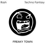 RASH - Techno Fantasy (Front Cover)