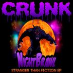 NIGHT BRAWL - Stranger Than Fiction EP (Front Cover)