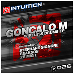 GONCALO M - Wireless Drums EP (Front Cover)