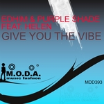 EDHIM/PURPLE SHADE feat HELEN - Give You The Vibe (Front Cover)